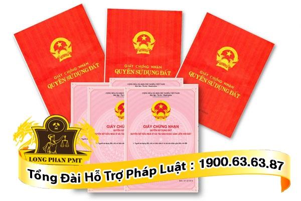 Sổ đỏ, sổ hồng ghi nhận quyền sử dụng đất hợp pháp của người sử dụng đất