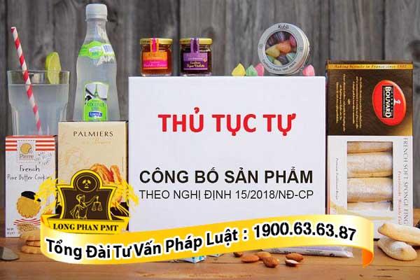 thu tuc cong bo chat luong san pham