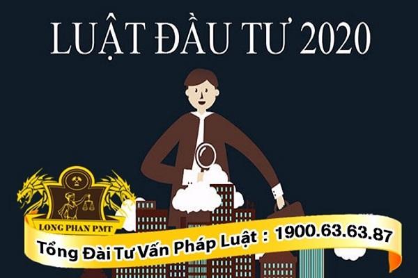 quy định mới của luật đầu tư 2020