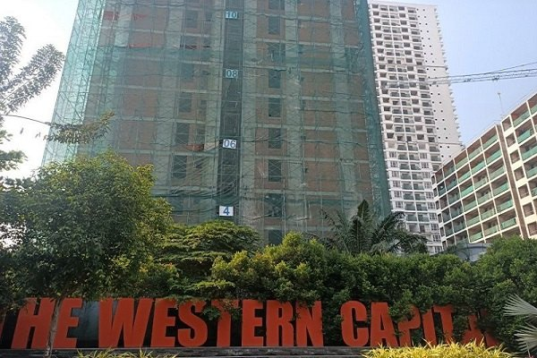 Dự án The Western Capital xảy ra tai nạn lao động
