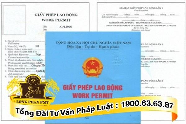cấp giấy phép lao động cho người lao động nước ngoài